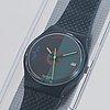 Swatch, petrodollar, wristwatch, 34 mm.