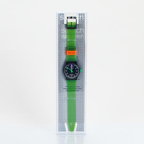 Swatch, jess'rush, wristwatch, 34 mm.