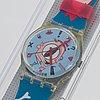 Swatch, gulp, wristwatch, 34 mm.