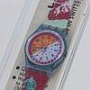Swatch, ski slope, wristwatch, 25 mm.