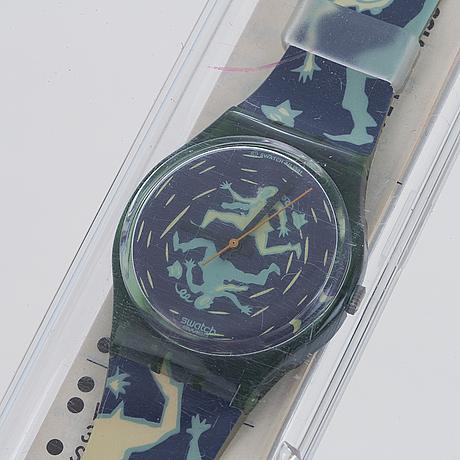 Swatch, crash, armbandsur, 34 mm.
