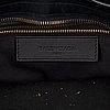 Balenciaga, a suede 'city bag'.