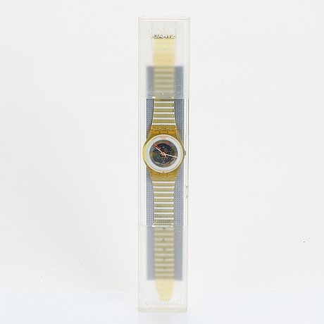 Swatch, andromeda, wristwatch, 34 mm.