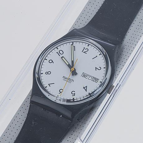 Swatch, classic, wristwatch, 34 mm.
