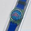 Swatch, frische fische, wristwatch, 34 mm.
