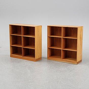 Two book cases by Mogens Koch for Rud.Rasmussens, Copenhagen.