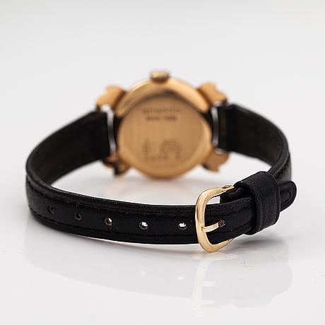 Atlantic, wristwatch, 22 mm.