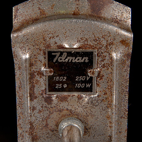 Gunnel nyman, two 1940's pendant '81003' lights for idman.