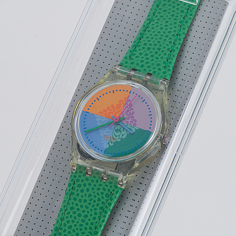 Swatch, piastrella, armbandsur, 25 mm.