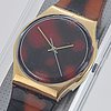 Swatch, sloan ranger, wristwatch, 34 mm.