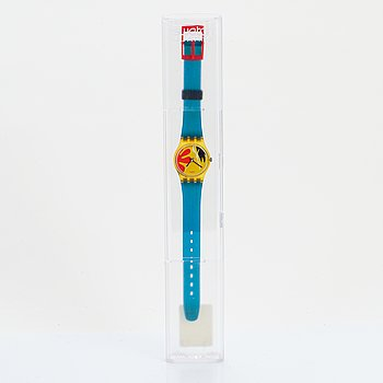 Swatch, Nafea, wristwatch, 25 mm.