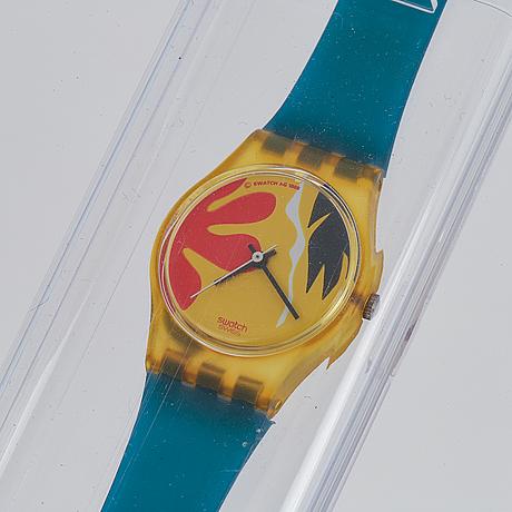 Swatch, nafea, armbandsur, 25 mm.