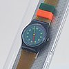 Swatch, gym session, wristwatch, 25 mm.