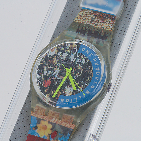 Swatch, swatch the people, wristwatch, 34 mm.