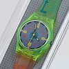 Swatch, neutrino, wristwatch, 25 mm.