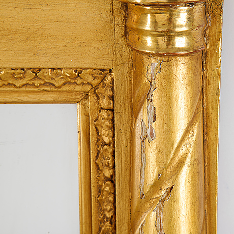 A second half of the 19th century mirror.