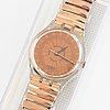Swatch, copper dusk, wristwatch, 34 mm.