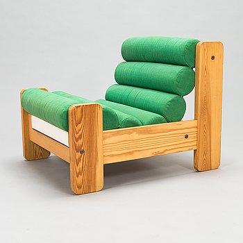 Ahti Taskinen, A 1970's 'Rento' armchair for Myrskylä Oy.
