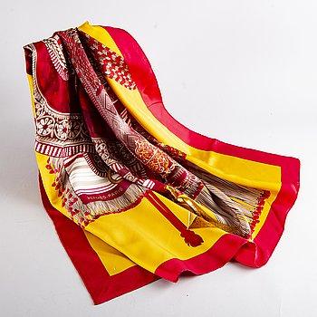"Hermès,, scarf, ""Selle d'Apparat Marocaine""."