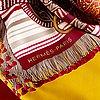 "Hermès, scarf, ""selle d'apparat marocaine""."