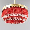 Hans-agne jakobsson, a ceiling lamp, second half of the 20th century.