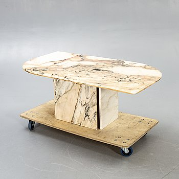 Coffee table, marble, 1980s.
