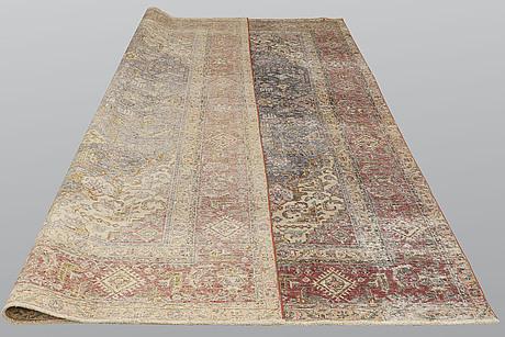 A carpet, oriental, ca 378 x 283 cm.