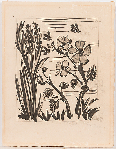 Pablo picasso, etching.