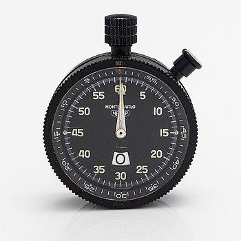 Heuer Monte Carlo, dash board stop watch, 57 mm.