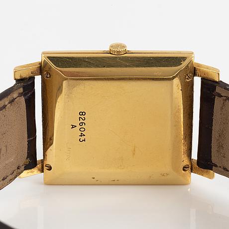 Jaeger-lecoultre, wristwatch, 27 x 27 (36) mm.