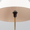 A brass floor lamp from bergboms, second half of the 20th century.
