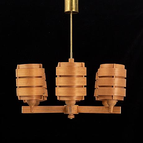 Hans-agne jakobsson, a pine ceiling light, ab ellysett, markaryd.
