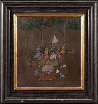 Nikolai Lehto, oil on board, signed and unclearly dated.