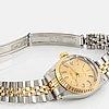 Tudor, princess oysterdate, wristwatch, 25 mm.