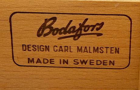 """Carl malmsten, skåp, """"herrgården"""", bodafors, 1900-talets andra hälft."""