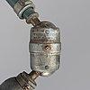 An industrial lamp, 'triplex-pendel' sweden, mid 20th century.