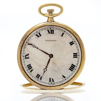 Touchon & Co for Tiffany & Co, pocketwatch and chatelaaine 44,5 mm,