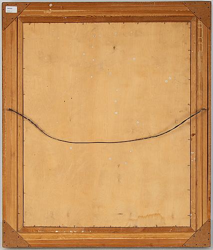 Gunnar torhamn, oil on panel, signed.