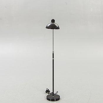 Christian Dell, floor lamp Kaiser, model 6556 F, Fritz Hansen Denmark.