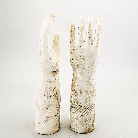 Handskformar, 9 st, frankrike omkring 2000.