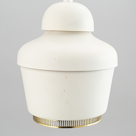 Model a330 pendant light by alvar aalto for valaistustyö.