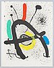 Book with 3 signed lithographs by miró.