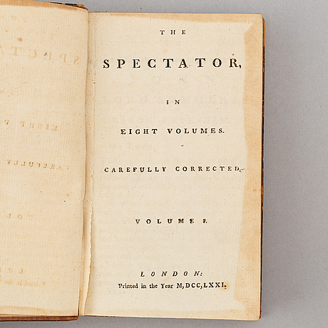 1700-talslitteratur (17 vol.).