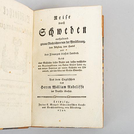 Reise durch schweden, 1790.