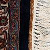 A carpet, old oriental, ca 347 x 251 cm.