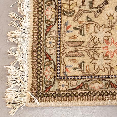 A carpet, kashmar, ca 385 x 292 cm.