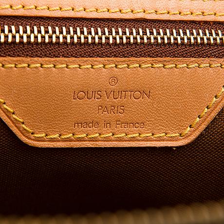 Louis vuitton, a monogram 'cabas mezzo' bag.