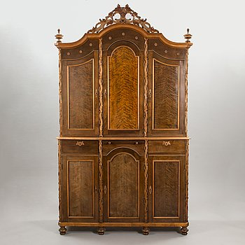 A Renaissans style cabinet, end of the 19th century.