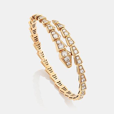 """A bulgari """"serpenti viper"""" bracelet."""