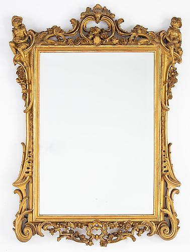 Spegel, rokokostil, 1900-tal.